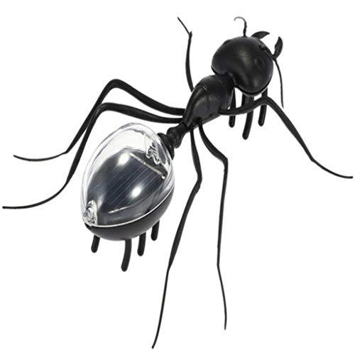 nsekt Spielzeug Magie Kinder pädagogisches Große Ameise Riesen Ameisen Königin Schwarz Kunststoff Realistische Insekten Witz Scary Tricky Spielzeug (Mehrfarbig) ()