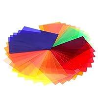 Caractéristiques:     35 pièces filtres gels en couleur pour des effets d'éclairage et de la correction des couleurs. S'adapte à la plupart de flash.    Comprend le plus grand choix des couleurs populaires pour contrôler la lumière de vos flashs. ...