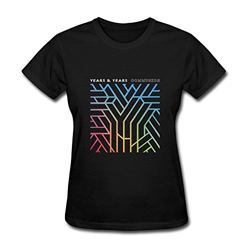 Donna's Years & Years T-Shirt- Nero