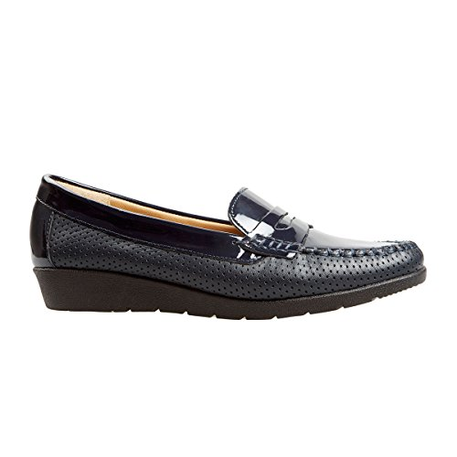 Van Dal Sheldon Loafers in Midnight / Patent