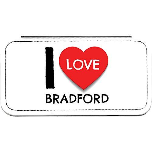 I Love (Heart) Bradford Faux Leather iPhone 6 Flip Case -