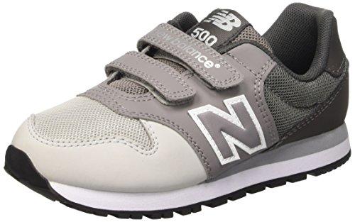 New Balance Nbkv500ygp, Scarpe da Ginnastica Unisex – Bambini Grigio (Grey)