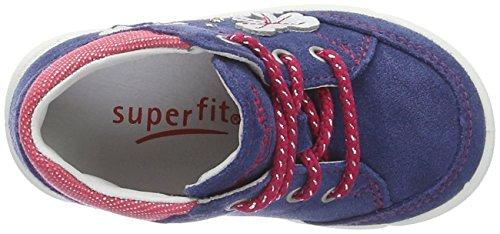 Superfit Avrile, Chaussures Marche Bébé Fille Blau (water Kombi)