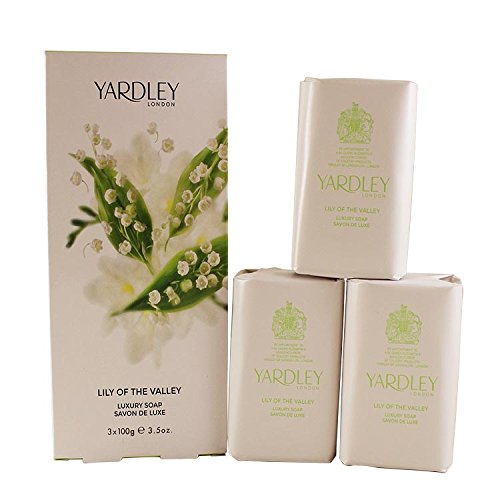 Lily of the Valley by Yardley Soap Trio 3 x 100 g