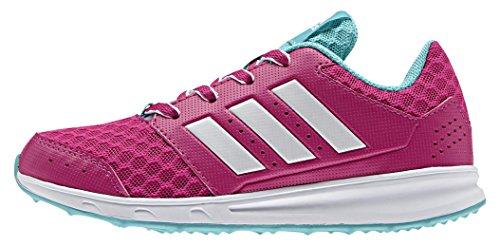 adidas LK Sport 2, Chaussures de Running Compétition Mixte Enfant Violet (Eqt Pink/Ftwr White/Vivid Mint)