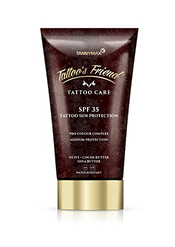 Tattoo's Friend SPF 35 Tattoo Creme  Sun Protection  mit Kakao Butter und Shea Butter / Medium Protection -