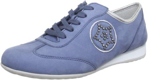 Gabor Shoes Gabor Comfort 6635585, Scarpe stringate basse donna Blu (Blau (heaven/silber))
