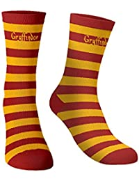 The souled store Cotton and Printed mens womens, Boys and girls Harry Potter: Gryffindor Socks