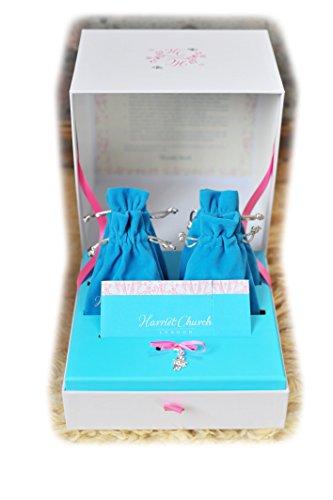 personalisierbar 25. Hochzeit Jahrestag Silber Hochzeit Andenken und Geschenk Box by Harriet Kirche