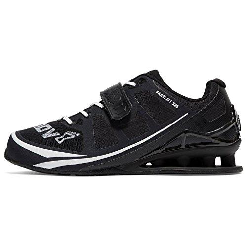 INOV-8 Fastlift 325 Hombre Zapatillas De Halterofilia Deportes Zapatillas De Entrenamiento Negro, Negro, 40