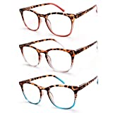 Best Reading Glasses - JAVIOL Vintage Reading Glasses 3 Pack Spring Hinge Review