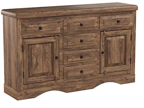MASSIVMOEBEL24.DE Kolonialstil Massivmöbel Sheesham grau Sideboard Palisander geölt massiv Holz LEEDS #11