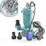!! Profi !! Fäkalienpumpe Tauchpumpe Schmutzwasserpumpe Model: CTR 550 mit Schneidwerk 550 Watt Anschluß Druckseite 2