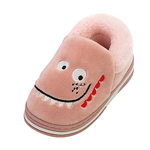 WEXCV Unisex Baby Jungen Mädchen Schuhe Herbst Winter Warm Cartoon Krokodil Baumwollschuhe Süßigkeitfarbe Kleinkindschuhe Niedlich Lauflernschuhe Booties - Schaffell Baby Booties
