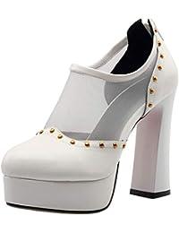 Lydee Mujer Moda Pumps Low Top Botines High Tacones Pumps Shoes Plataforma