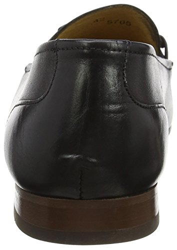Hudson London Herren Renzo Slipper Schwarz (Black)