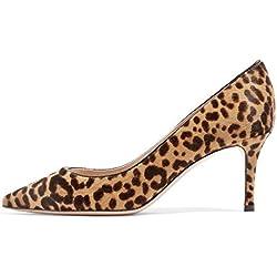 Lutalica - Zapatos de Vestir de Charol para Mujer, Color, Talla 42 2/3