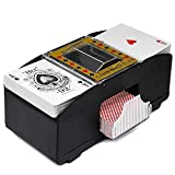 RUIGIN Playing Card Shuffler Elettrico Automatico azionato Carte Dealer ad Alta velocità di traslazione della Macchina Dispenser a Batteria di Carte