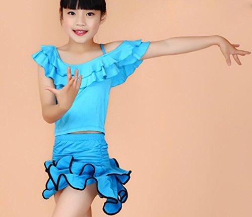 ädchenkleidung und Tanzkostüme Theatrical Costume, 170cm, blue (Theatricals Tanz Kostüme)