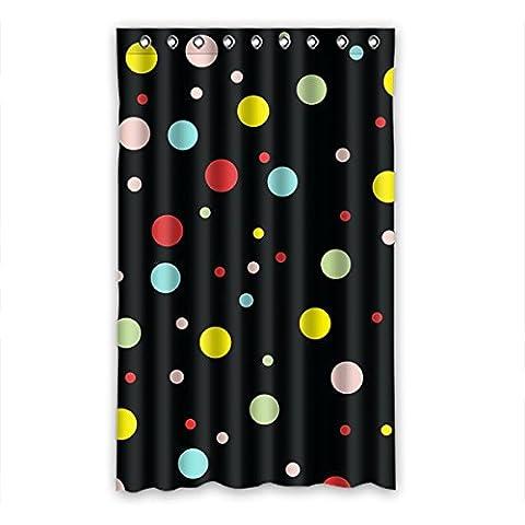 Dalliy Polka Dots Rideaux Window Curtain De Polyester 52