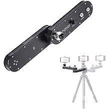 Andoer GT-V70 Portátil Cámara Slider Deslizante con Movmiento Panorámico y Lineal Se Extiende hasta 4x Distancia para GoPro / Smartphone / DSLR Cámaras / ILDC Grabación de Vídeo
