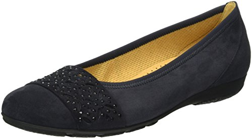 Gabor Shoes 54.160 Damen Geschlossene Ballerinas, Blau (pazifik 16), 38 EU (5 Damen UK)