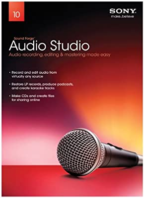 Sony Sound Forge Audio Studio 10 2011 Release (PC)