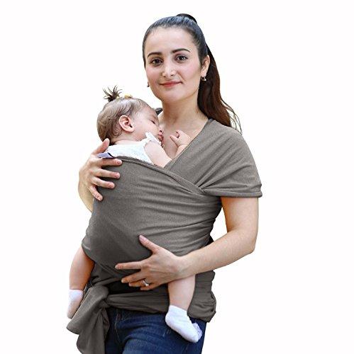 Baby Wrap Carrier, todmy atmungsaktiv weiche Baumwolle Stillen Bezug Baby Tragetuch Baby Praktische Sleepy Wickeln bequem Baumwolle Baby Carrier für Neugeborene