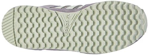 adidas Zx 700, Chaussures de Running Femme Gris (Medium Grey Heather/linen Green/grey)