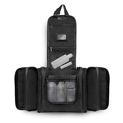 XXL Kulturbeutel Kulturtasche zum Aufhängen für Herren & Damen - Große Kosmetiktasche mit 12 Liter - Waschtasche Waschbeutel für Mann & Frau