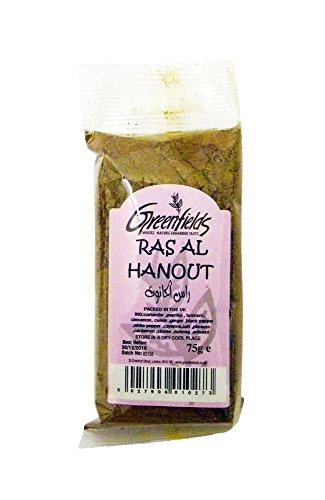 Greenfields - Mezcla de especias Ras Al Hanout - 75 g