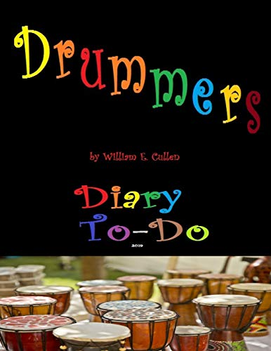 Drummers: Diary To-Do 2019