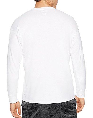 Champion - Maglietta sportiva - Maniche lunghe  -  uomo White Champion 1919