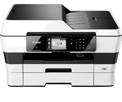Get Brother MFC-J6920DW A3 Colour Inkjet Wireless Multifunction Printer (Printer, Setup + compatible inks) Discount