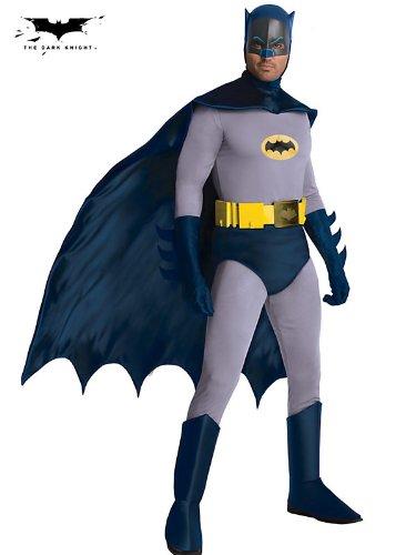 Batman Heritage Kostüm 196 für Herren, Größe:XL