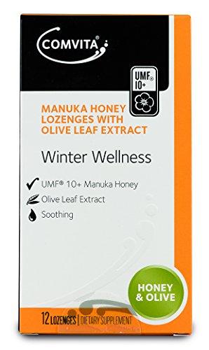 Manuka Lutschtabletten (Manuka-Honig und Olivenblattextrakt-Lutschtabletten)