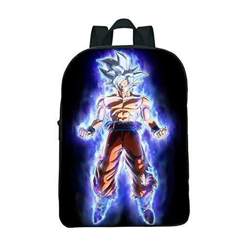 Dragon Ball Z Super Anime Goku Schulrucksack Casual Schultasche Kinder Gedruckter Daypack style30