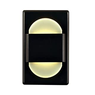 Alico Industries WLE105DR32K-10-B EZ LED Step Light, Bronze Finished Trim with Opal Acrylic Lens by Alico Industries