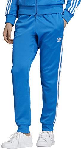 adidas Herren SST TP Sport Trousers, Bluebird, L - Original Männer Schuhe Adidas
