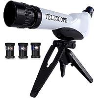 XIAOYUE Telescopio Portable para Los Cabritos, Mini Juguetes Científicos Exquisitos del Telescopio Convenientes para Los Principiantes Y Los Niños