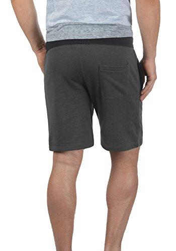 SOLID Benni Herren Sweat-Shorts kurze Hose Sport-Shorts aus hochwertiger Baumwollmischung Dark Grey (2890)