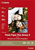 Canon 2311B019 - Photo Paper Plus II PP-201 - Glossy photo paper - A4 (210 x 297 mm) - 260 g/m2 - 20 sheet(s)