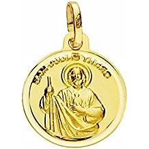 18k gold medal 14mm St. Jude Thaddeus. Registration [7204] MmmWHv