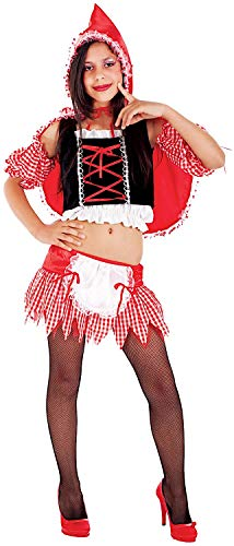 Rosso Kostüm Cappuccetto - Carnevale Venizano CAV5108-14 - Teenagerkostüm CAPPUCCETTO Rosso - Alter: 12-16 Jahre - Größe: 14