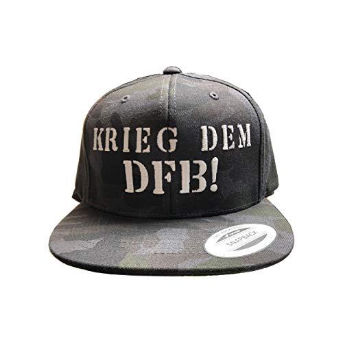 Volkspark Hamburg Streetwear Snapback Cap Camo DFB 1.0
