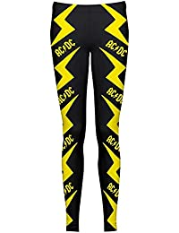 1844daa9c2892 AC/DC - Lightning - Official Womens Leggings