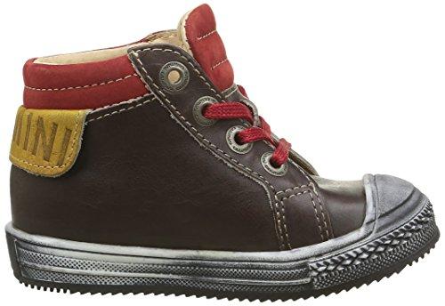 Catimini Albatros, Chaussures Premiers Pas Bébé Garçon Marron (14 Vtu Marron/Rouge Dpf/Omero)