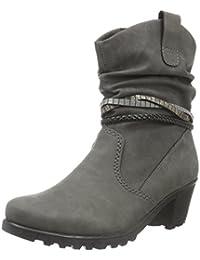 Rieker Damen Y8056 Kurzschaft Stiefel