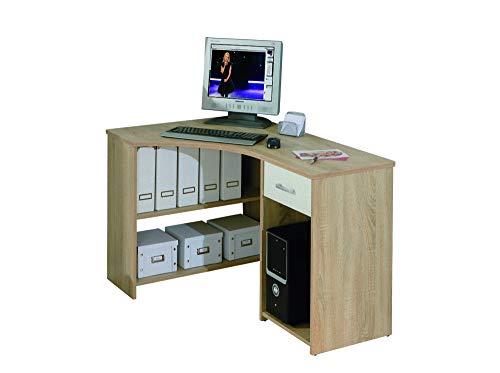 Schreibtisch Capsi Sonoma Eiche Dekor Tisch Bürotisch Computertisch PC Büro -