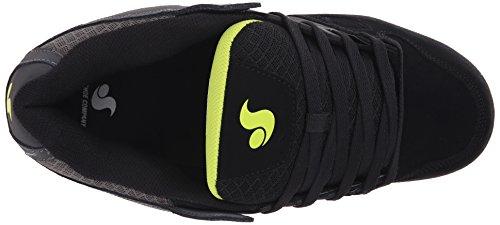 DVS (Elan Polo) Celsius - Scarpe da Skateboard Uomo Grigio (Grey/Blk/Lime Nubuck)